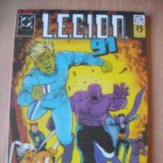 Cómics: LEGIÓN 91 - TOMO Nº 1 (INCLUYE LOS NÚMEROS DEL 1 AL 5). Lote 232217535