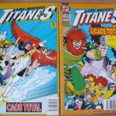 Cómics: LOS NUEVOS TITANES -TOMO 1 Y 2 - COMPLETA!! - ED. ZINCO. Lote 39344570