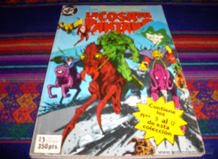 ZINCO RETAPADO Nº 6 COSA DEL PANTANO NºS 9 AL 12. 350 PTS. 1988. REGALO Nº 4. 95 PTS. 1985. (Tebeos y Comics - Zinco - Cosa del Pantano)