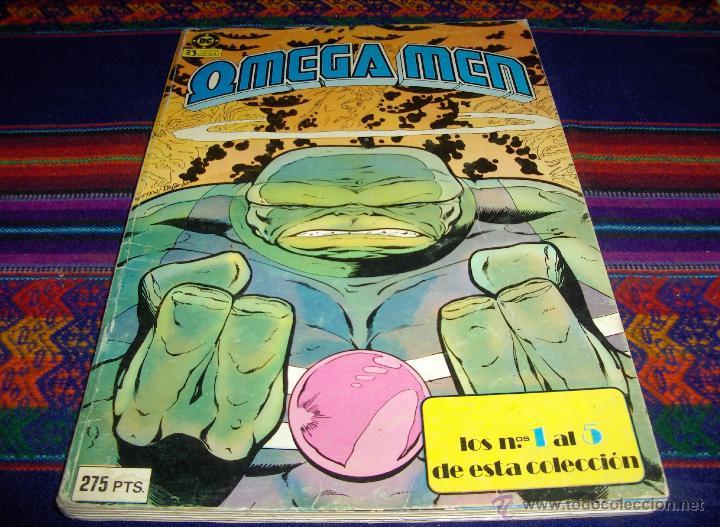 ZINCO RETAPADO OMEGA MEN NºS 1 AL 5. 275 PTS. 1984. BUEN ESTADO. (Tebeos y Comics - Zinco - Retapados)
