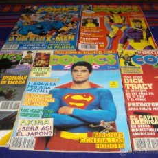 Cómics: ZINCO COMICS SCENE NºS 1, 4, 8, 11 Y 13. 375 PTS. 1990.. Lote 39400715