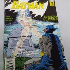 Cómics: BATMAN : EL ENIGMA CLAYFACE Nº 2 / DC - ZINCO. Lote 39291273