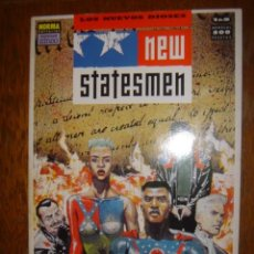 Cómics: NEW STATESMEN. 1991. Lote 39594512