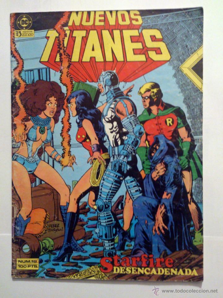 NUEVOS TITANES VOL. 1 # 16 (ZINCO) (Tebeos y Comics - Zinco - Nuevos Titanes)