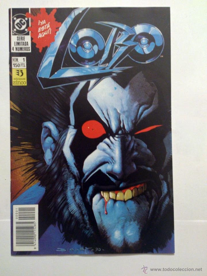 LOBO VOL. 1 # 1 (DE 4) - ZINCO - 1991 (Tebeos y Comics - Zinco - Lobo)