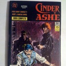 Cómics: CINDER Y ASHE - RETAPADO OBRA COMPLETA - # 1 AL 4 (ZINCO) - 1990. Lote 39679155