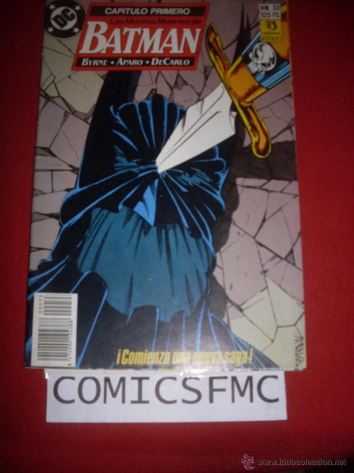 ZINCO DC BATMAN NUMERO 33 (Tebeos y Comics - Zinco - Batman)
