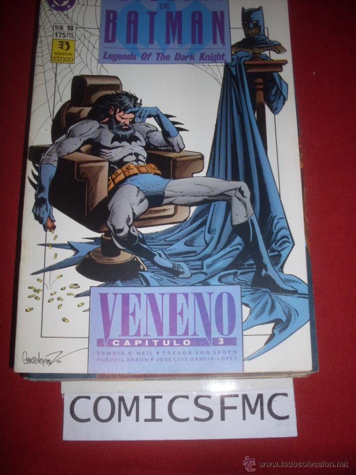 ZINCO DC LEYENDAS DE BATMAN NUMERO 18 (Tebeos y Comics - Zinco - Batman)
