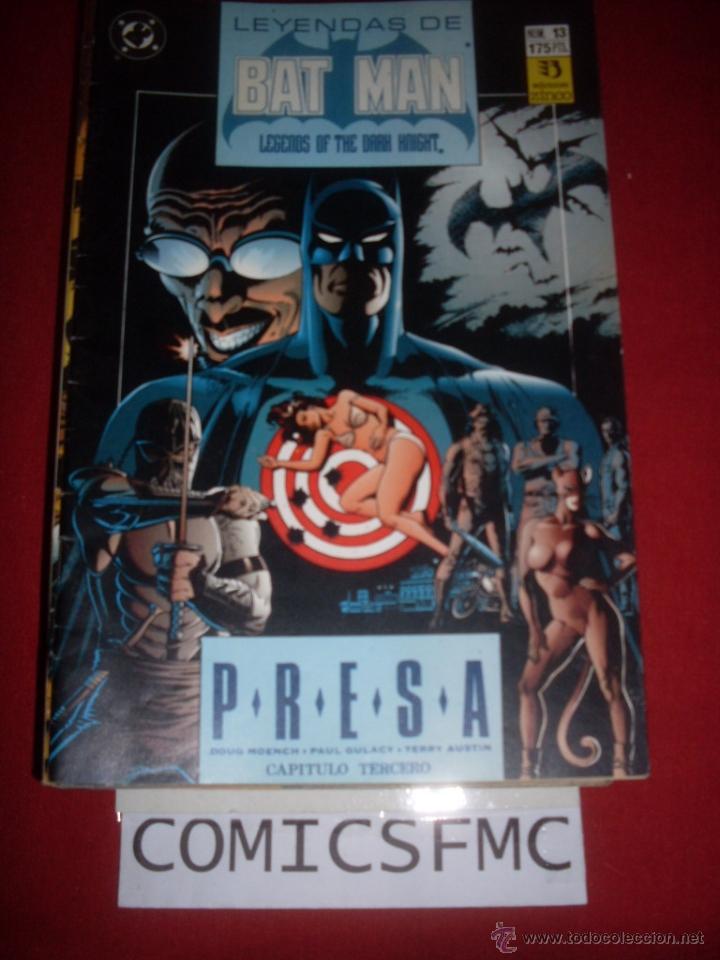 ZINCO DC LEYENDAS DE BATMAN NUMERO 13 (Tebeos y Comics - Zinco - Batman)