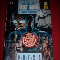 Cómics: ZINCO DC LEYENDAS DE BATMAN NUMERO 13. Lote 39757948