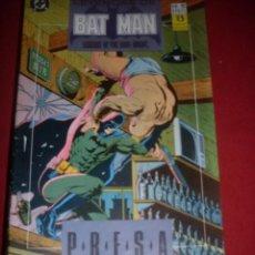 Cómics: ZINCO DC LEYENDAS DE BATMAN NUMERO 12. Lote 39757952