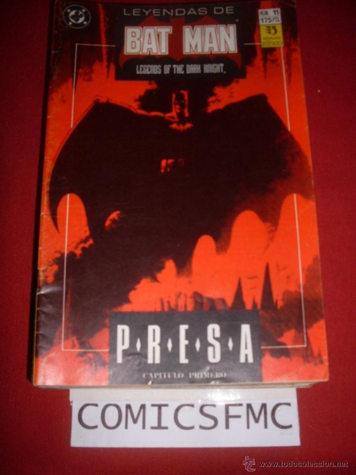 ZINCO DC LEYENDAS DE BATMAN NUMERO 11 (Tebeos y Comics - Zinco - Batman)