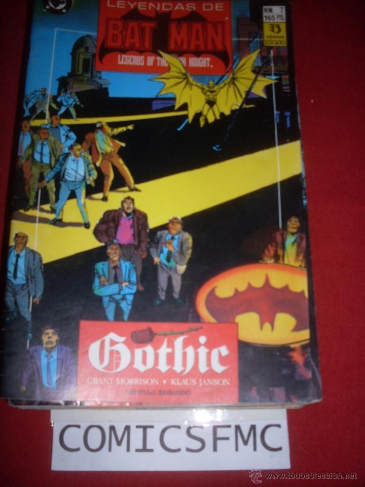ZINCO DC LEYENDAS DE BATMAN NUMERO 7 (Tebeos y Comics - Zinco - Batman)