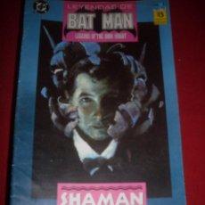 Cómics: ZINCO DC LEYENDAS BATMAN DE NUMERO 3. Lote 39757973
