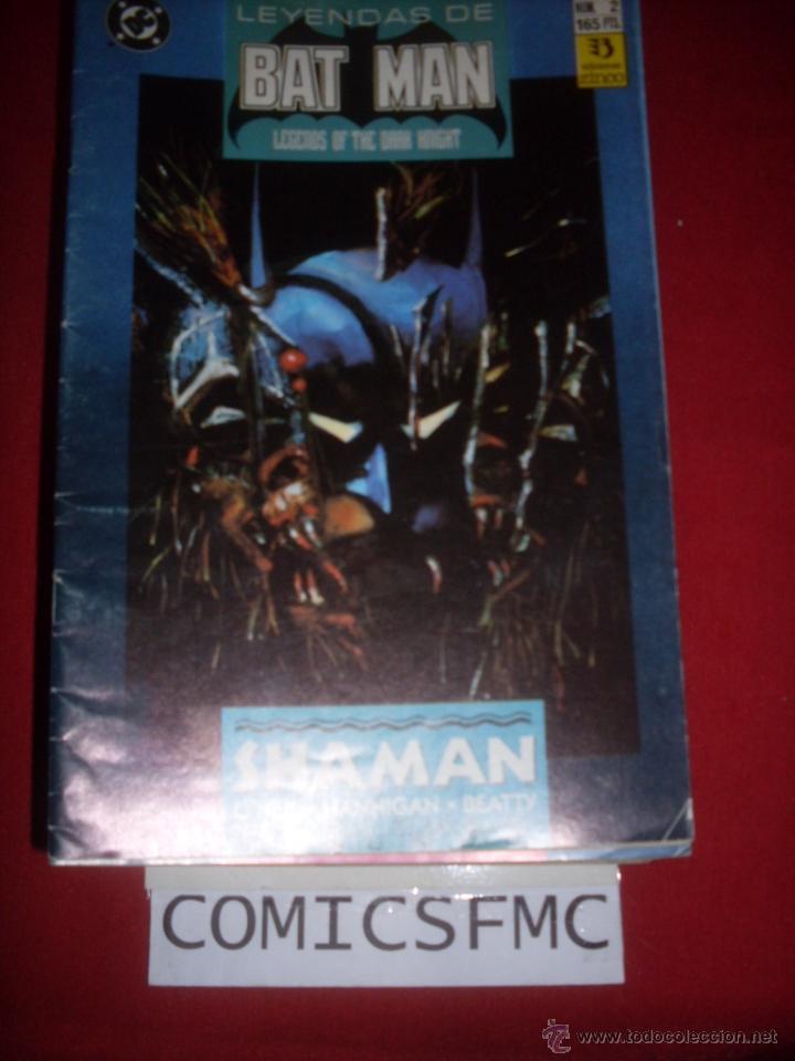 ZINCO DC LEYENDAS DE BATMAN NUMERO 2 (Tebeos y Comics - Zinco - Batman)