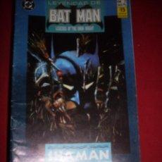 Cómics: ZINCO DC LEYENDAS DE BATMAN NUMERO 2. Lote 39757975