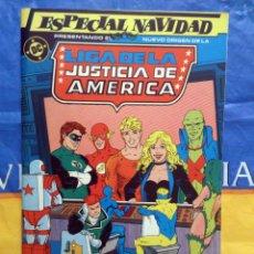 Cómics: LIGA DE LA JUSTICIA ESPECIAL # 2 NAVIDAD (ZINCO). Lote 39760913