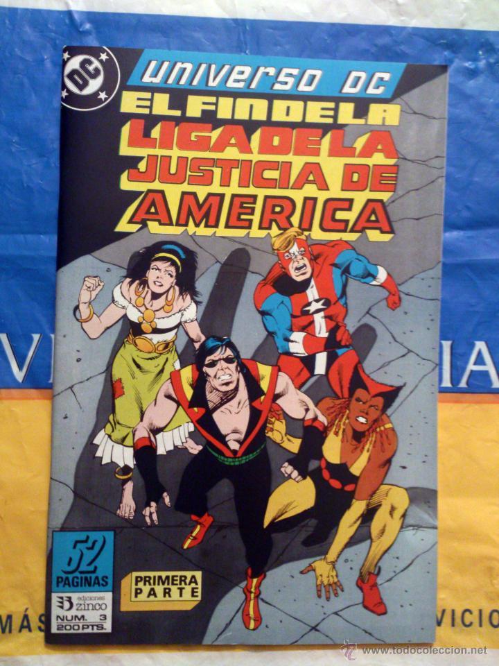 UNIVERSO DC VOL. 1 # 3 (ZINCO) - EL FIN DE LA LIGA DE LA JUSTICIA PARTE 1 - MAYO 1989 (Tebeos y Comics - Zinco - Liga de la Justicia)