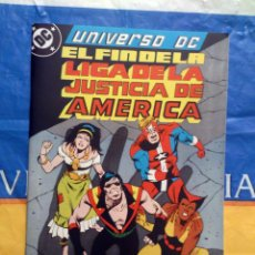 Cómics: UNIVERSO DC VOL. 1 # 3 (ZINCO) - EL FIN DE LA LIGA DE LA JUSTICIA PARTE 1 - MAYO 1989. Lote 39760990