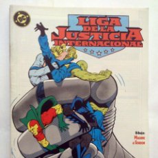 Cómics: LIGA DE LA JUSTICIA INTERNACIONAL VOL. 1 # 09 (ZINCO) – 1989. Lote 39769871