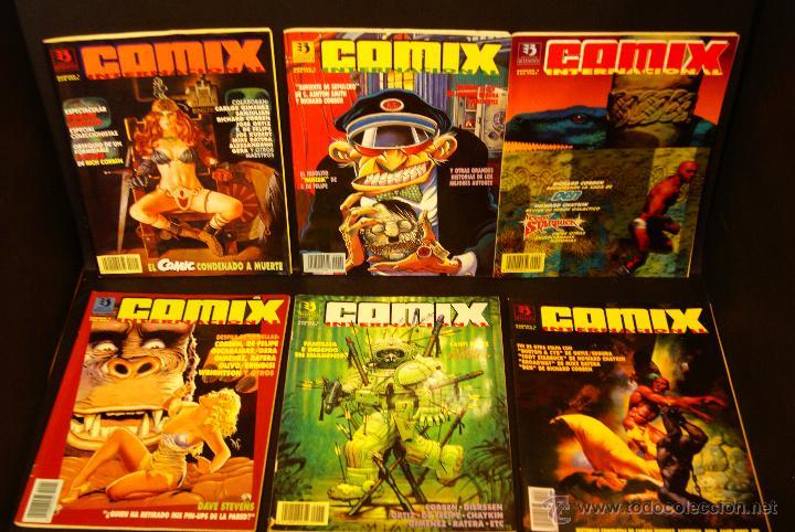 COMIX INTERNACIONAL 2ª ÉPOCA COMPLETA 6NºS. ED. ZINCO. (CON DESCUENTO!!!) (Tebeos y Comics - Zinco - Otros)