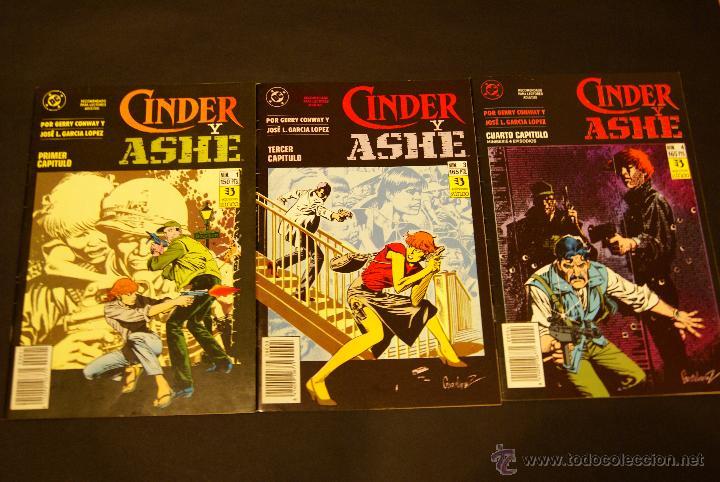 CINDER Y ASHE MINISERIE, NºS 1, 3 Y 4 (DE 4). (Tebeos y Comics - Zinco - Otros)