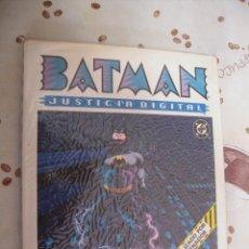 Cómics: BATMAN JUSTICIA DIGITAL. Lote 39800141