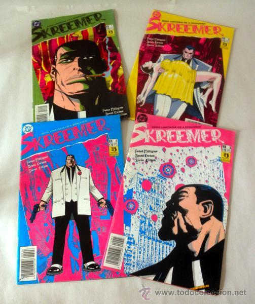 LOTE DE 4 COMICS SKREEMER * NUM 1 * 3 * 5 * 6 DC * ZINCO (Tebeos y Comics - Zinco - Otros)
