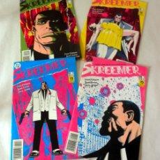 Cómics: LOTE DE 4 COMICS SKREEMER * NUM 1 * 3 * 5 * 6 DC * ZINCO. Lote 39827213