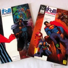 Cómics: LOTE DE 2 COMICS DOOM PATROL LA PATRULLA CONDENADA * LIBRO PRIMERO Y SEGUNDO. Lote 39827294