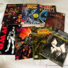 Cómics: LOTE DE 8 COMICS VARIADOS DC CINCO * LA COSA DEL PANTANO * SANDOMAN * DEMON * OMAC * THE PSYCHO. Lote 39827555