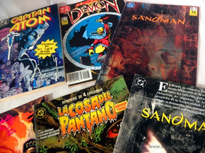 Cómics: LOTE DE 8 COMICS VARIADOS DC CINCO * LA COSA DEL PANTANO * SANDOMAN * DEMON * OMAC * THE PSYCHO - Foto 4 - 39827555