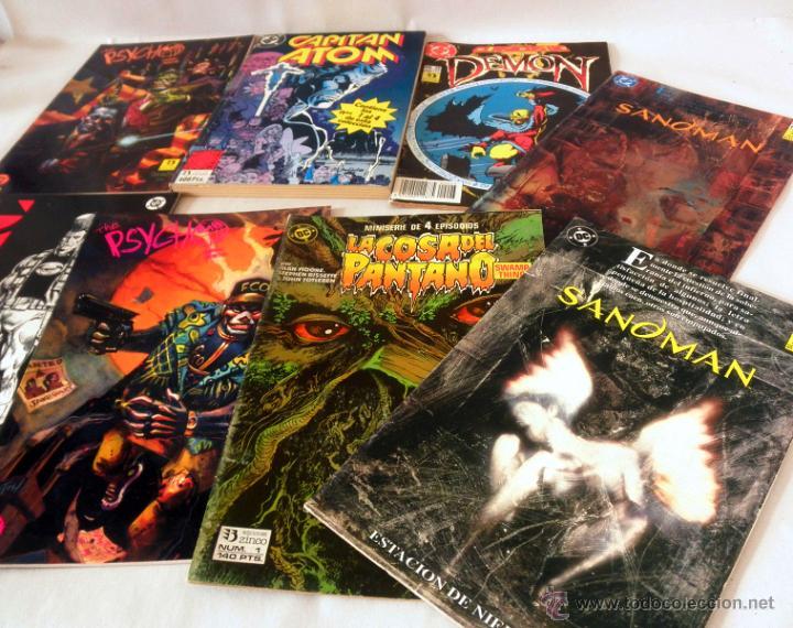 Cómics: LOTE DE 8 COMICS VARIADOS DC CINCO * LA COSA DEL PANTANO * SANDOMAN * DEMON * OMAC * THE PSYCHO - Foto 5 - 39827555