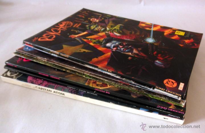 Cómics: LOTE DE 8 COMICS VARIADOS DC CINCO * LA COSA DEL PANTANO * SANDOMAN * DEMON * OMAC * THE PSYCHO - Foto 6 - 39827555