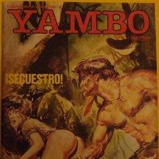 Cómics: YAMBO - LOS GUERRILLEROS - ¡SECUESTRO! NO 2 AÑO 1986. Lote 39889798