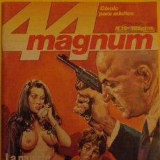 Cómics: 44 MAGNUM - LA MUERTE AL ACECHO - SECUESTRADORES DE NIÑOS - DROGA EN LOS BARRIOS ALTOS (2) N13 1986. Lote 39892174
