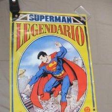 Cómics: POSTER - SUPERMAN LEGENDARIO - APROX. 88,5CM X 55,5CM. - ZINCO - . Lote 39984119