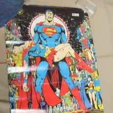 Cómics: POSTER - SUPERMAN CRISIS INFINITA - EL PRINCIPIO Y EL FIN DE UNA ERA - APROX. 67CM X 45,5CM - ZINCO . Lote 39984230