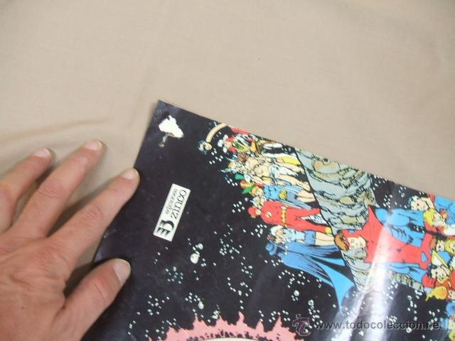 Cómics: POSTER - SUPERMAN CRISIS INFINITA - EL PRINCIPIO Y EL FIN DE UNA ERA - APROX. 67CM X 45,5CM - ZINCO - Foto 3 - 39984230