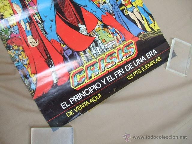 Cómics: POSTER - SUPERMAN CRISIS INFINITA - EL PRINCIPIO Y EL FIN DE UNA ERA - APROX. 67CM X 45,5CM - ZINCO - Foto 5 - 39984230