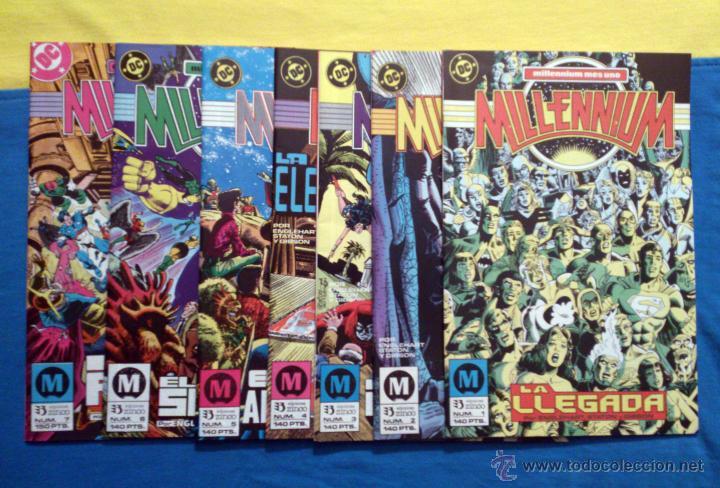 MILLENNIUM LOTE DE 7 NUMEROS (ZINCO) - CONTIENE # 1 - 2 - 3 - 4 - 5 - 6 - 7 / 1988 (Tebeos y Comics - Zinco - Millenium)