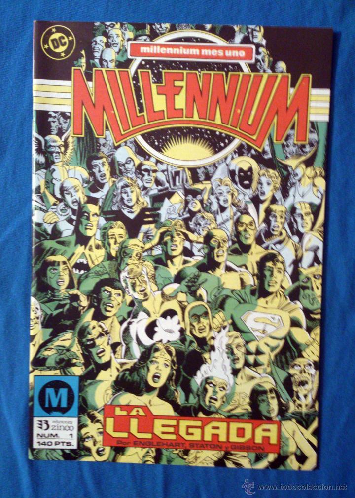 MILLENNIUM VOL. 1 # 1 (ZINCO) - 1988 (Tebeos y Comics - Zinco - Millenium)