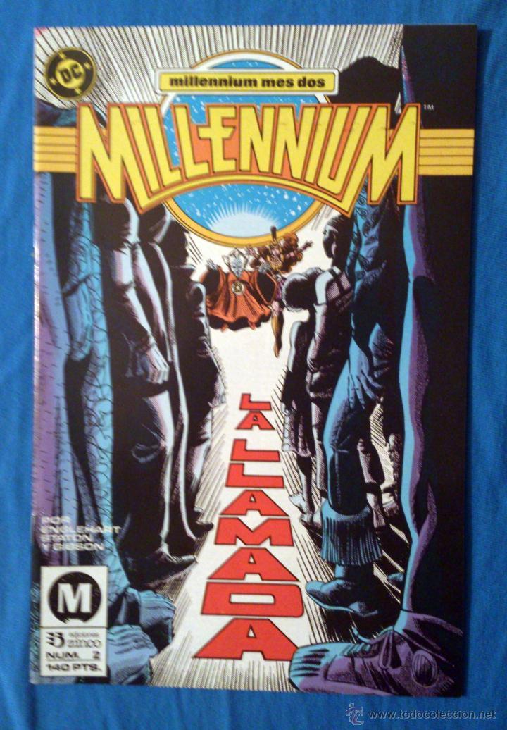 MILLENNIUM VOL. 1 # 2 (ZINCO) - 1988 (Tebeos y Comics - Zinco - Millenium)