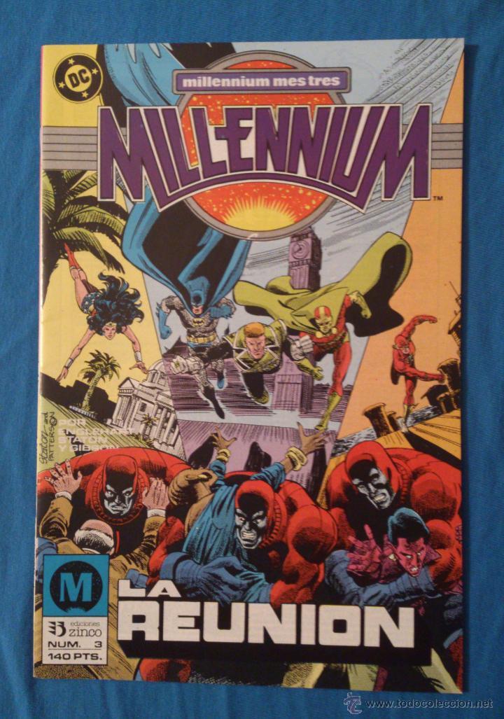 MILLENNIUM VOL. 1 # 3 (ZINCO) (Tebeos y Comics - Zinco - Millenium)