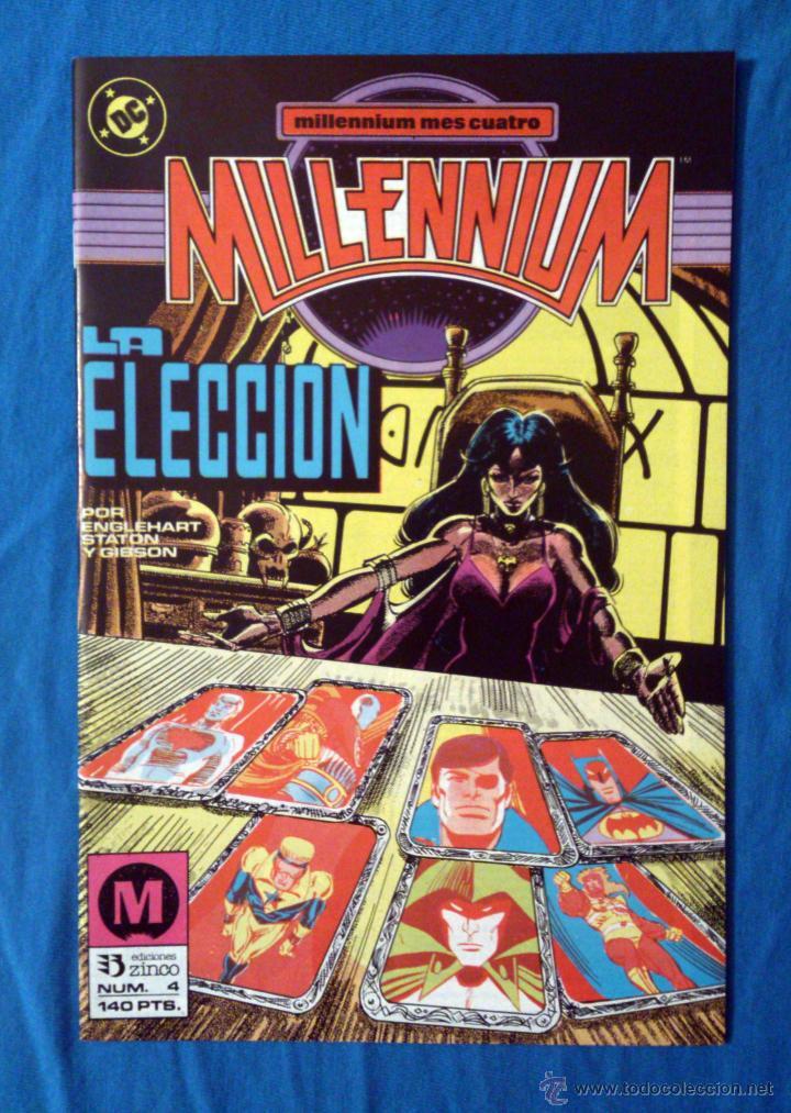 MILLENNIUM VOL. 1 # 4 (ZINCO) (Tebeos y Comics - Zinco - Millenium)