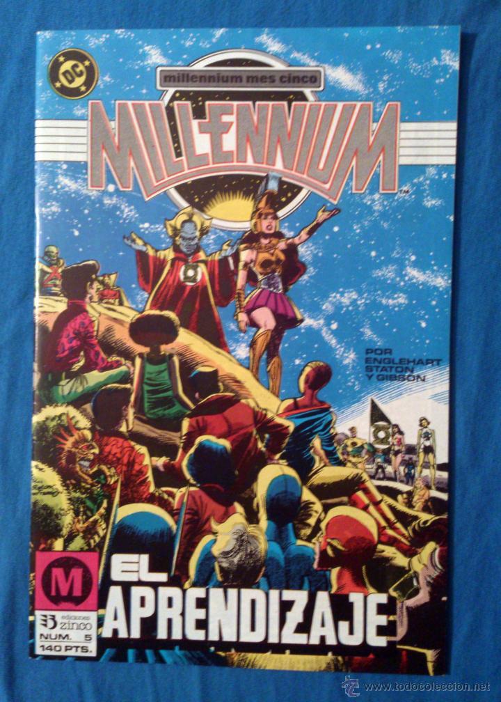 MILLENNIUM VOL. 1 # 5 (ZINCO) (Tebeos y Comics - Zinco - Millenium)
