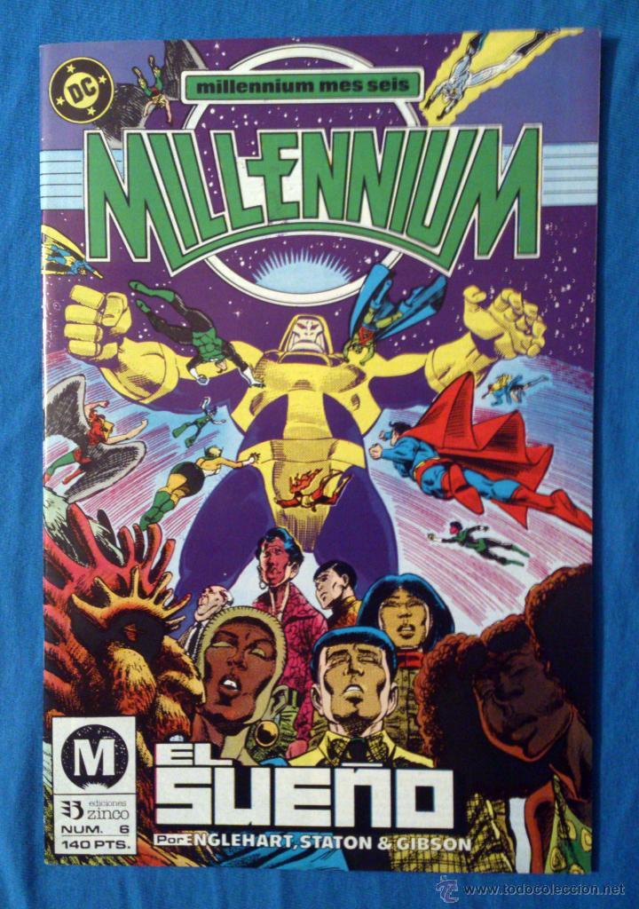 MILLENNIUM VOL. 1 # 6 (ZINCO) (Tebeos y Comics - Zinco - Millenium)