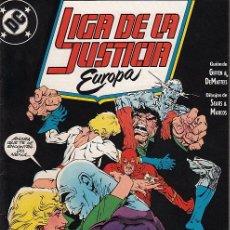Comics: LIGA DE LA JUSTICIA EUROPA VOL.1 # 5 (ZINCO,1989) - KEITH GIFFEN - BART SEARS. Lote 40233746