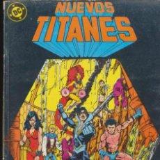 Cómics: NUEVOS TITANES TOMO 8. CONTIENE LOS EJEMPLARES DEL 36 AL 40.. Lote 98794851