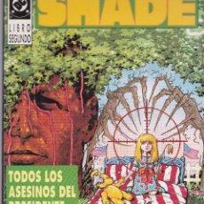 Cómics: SHADE. EL HOMBRE CAMBIANTE. 1 Y 2. LINEA VERTIGO. Lote 40327682